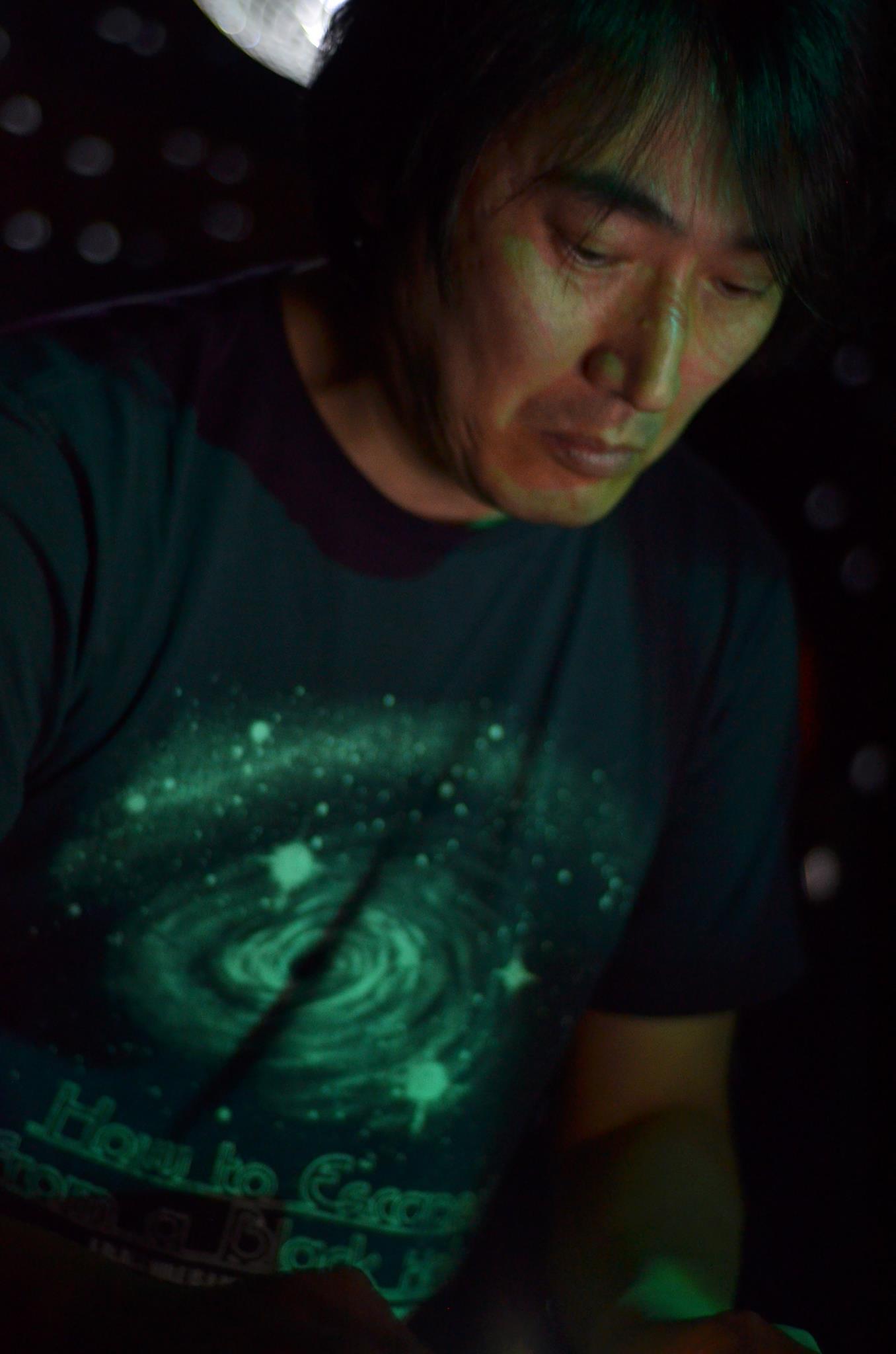 Takuya Yamashita, zwartkrijt artist