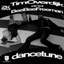 Dancetune  artwork cover release ZK003 Zwartkrijt Tim Overdijk and Beebee Freeman