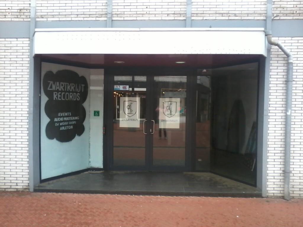 Zwartkrijt Records, winkel Brunssum, Netherlands